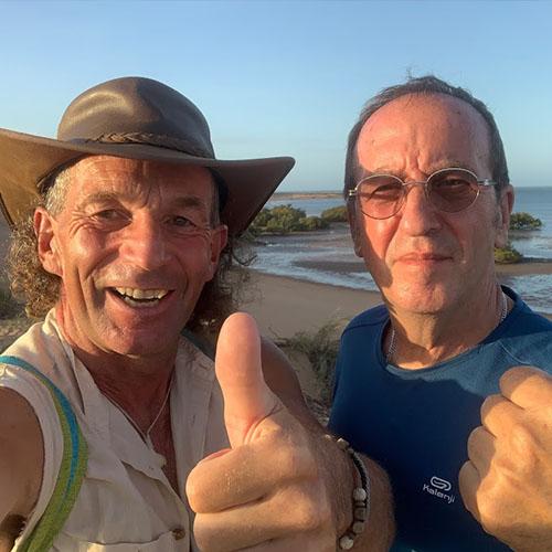 Carsten und Manni Daumen hoch