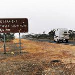 Die längste gerade Straße Australiens